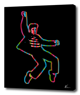 Elvis Presley | Dark | Pop Art