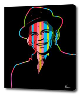 Frank Sinatra | Dark | Pop Art