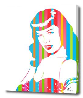 Bettie Page | Pop Art