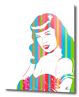 Bettie Page | Pop Art