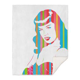 Bettie Page   Pop Art