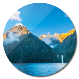 Milford Sound wild beauty, New Zealand