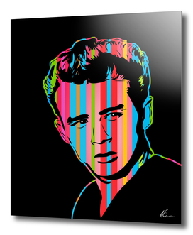 James Dean | Dark | Pop Art