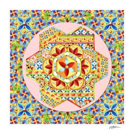 Gypsy Boho Hexagon