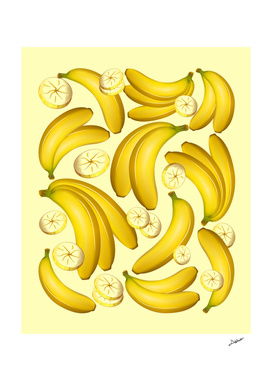 Banana Fruity Pattern