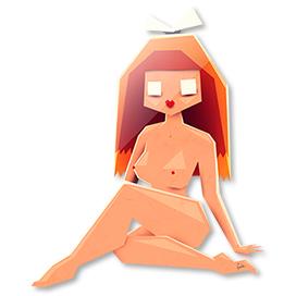 Naked lady 2