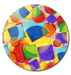 Rainbow Candy Geometric