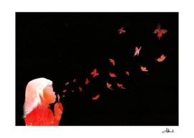 Blowing Butterflies