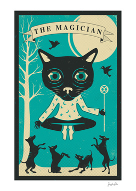 Tarot Card Cat: The Magician
