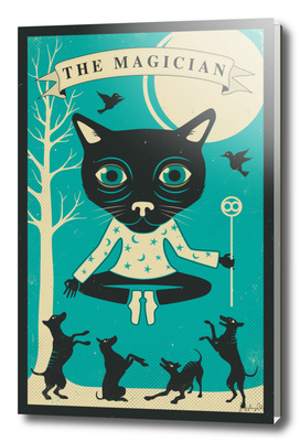 Tarot Card Cat: The Magician