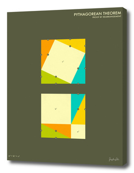 Pythagorean Theorem (Proof by Rearrangement) 4