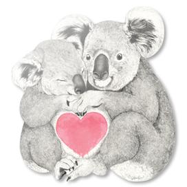 Koalas Love Hugs