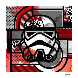 Orderly Vandalized: Stormtrooper