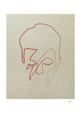 One line David Bowie