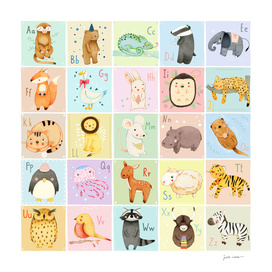 German Animal Alphabet