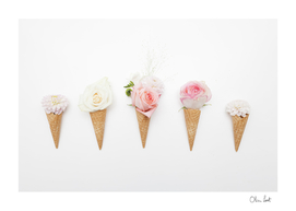 Ice-cream blossom