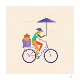 Sri Lanka -  Cyclist