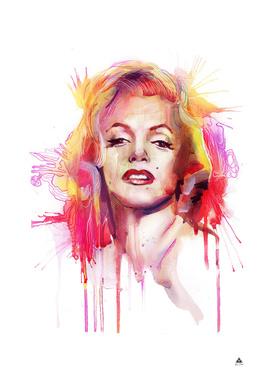 "Marilyn  ""art grunge"""