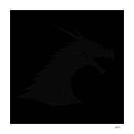 black on black dragon