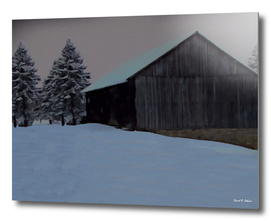 Winter Day on the Farm