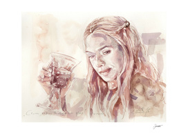 Cersei Lannister, Game of Wine