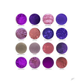 Pigments Violets Purple Pigments