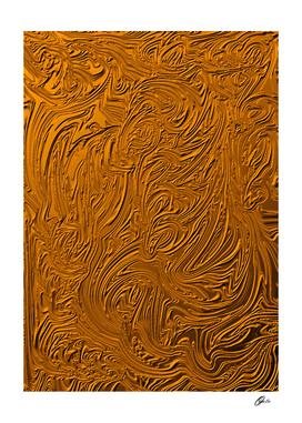 GOLDEN ANCIENT TRIBALS ART