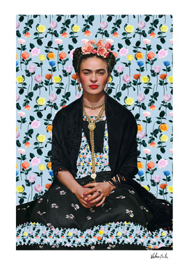 Frida kahlo Floral II