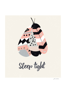Sleep tight tribal feathers
