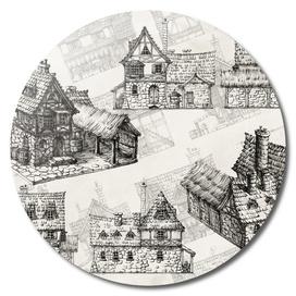 Medieval tavern design