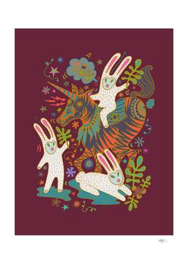 Unicorn Rabbits