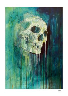 Turquoise Skull