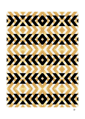 Gold Foil Art Deco II