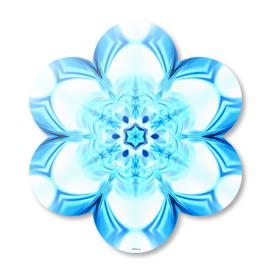 Abstract Kaleidoscope Snowflake
