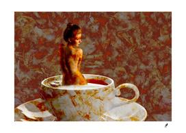 Femei-Kara Teacup Abstract