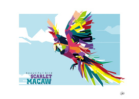 Scarlet Macaw (Beautiful Bird)