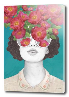 The optimist // rose tinted glasses