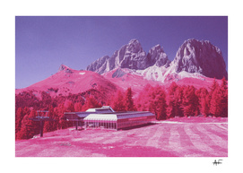 Dolomites in Infrared #7