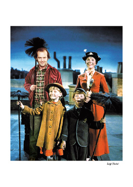 Jack Torrance in Mary Poppins