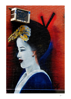 Geisha Graffiti from The Five Pointz Series