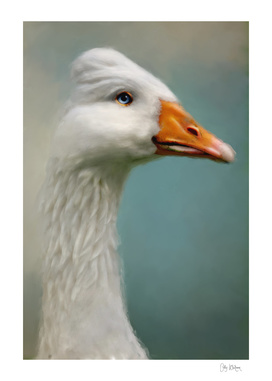 Goose with Bouffant