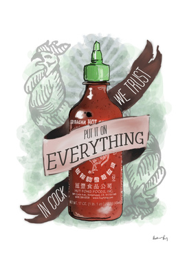 An Ode To Sriracha