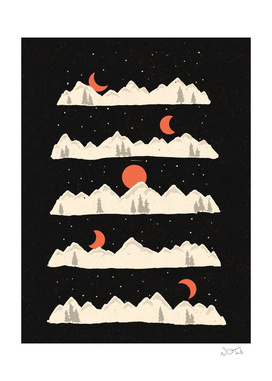 Moonrises... Moonsets...