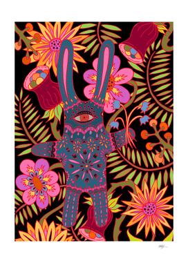 Rabbit in a Garden
