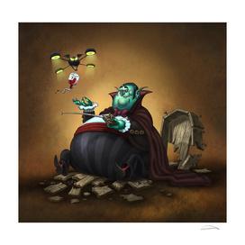 The Lazy Vampire