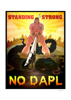 STANDING STRONG - NO DAPL