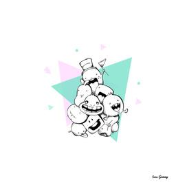 Happy Totem - Teamwork