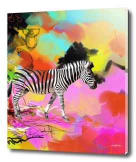 Punk Zebra