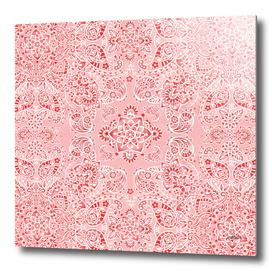 Pink Paisley Mehndi