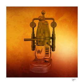 Steampunk Coffee Maker